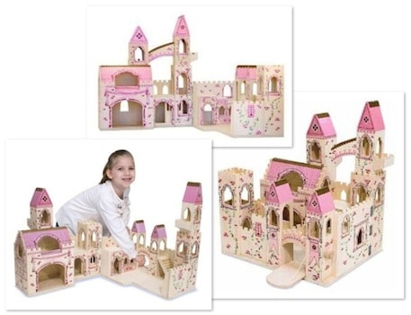 Save 52 On The Melissa Doug Deluxe Wooden Folding Princess Castle