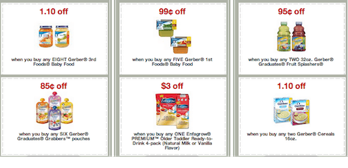 new printable baby coupons from target save on diapers gerber and more