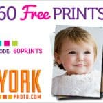 Free Photo Prints! Get 60 Free Prints with this YorkPhoto Promo Code (+ S&H)