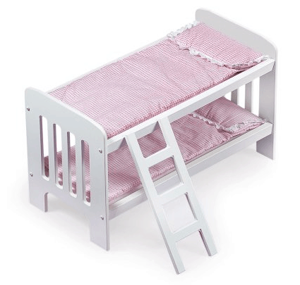 Save 52% On The Badger Basket Doll Bunk Beds With Ladder, Free Shipping  Eligible!