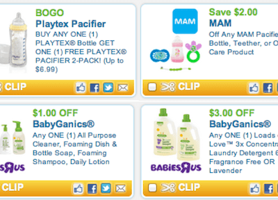 Printable Baby Coupons Available Now on Coupons.com