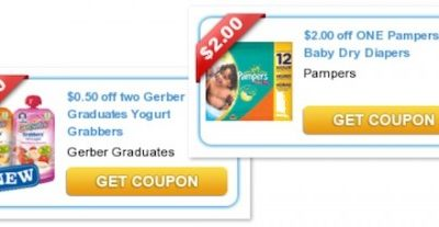 Save up to $37 with Printable Baby Coupons! Pampers, Playtex Similac and More!