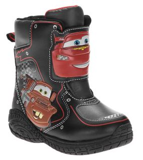 Disney Cars Or Princess Light Up Winter Boots Up To 25 OFF