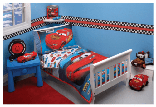 Disney Cars  Piece Toddler Bedding Set