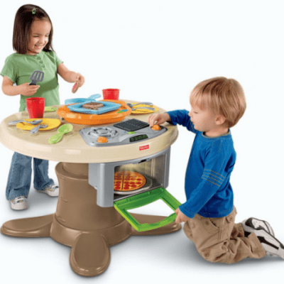 Save 41% on the Fisher-Price Servin' Surprises Kitchen & Table + Free Shipping!