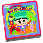 """Get a Free """"Little Big Top Circus"""" Board Book (a $9.99 value) with a $35 Lamaze Purchase!"""