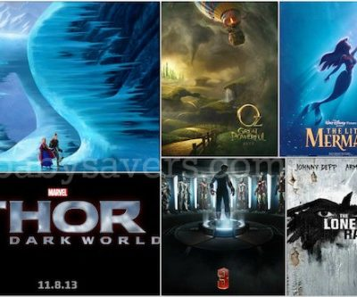 Disney's 2013 Slate: Release Dates for Walt Disney Studios, Disney/Pixar, Marvel & Dreamworks Movies!
