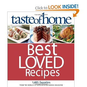 Holiday Gift Idea: Taste of Home Best Loved Recipes Cookbook