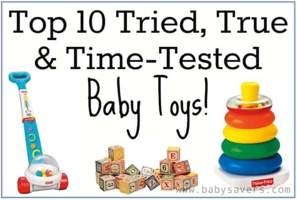 Top 10 Baby Toys : Best baby toys top tried and true that mom