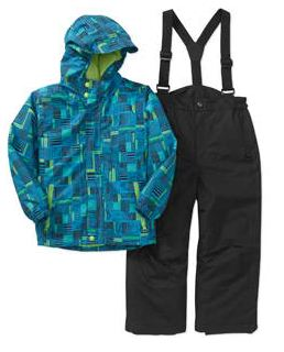 Baby Boy 2 Piece Ski Jacket and Bib Pants