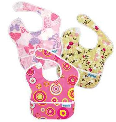 Today Only Bumkins Superbib 3 Pack Pink Only 15 Shipped
