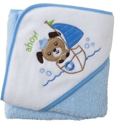 Circo Baby Boys Puppy Plush Hooded Towel