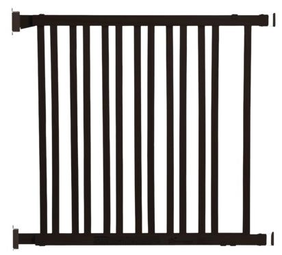 Dreambaby Expandable Wood Gate-Espresso