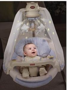 Fisher Price Cradle N Swing Starlight 32 Off Ships Free