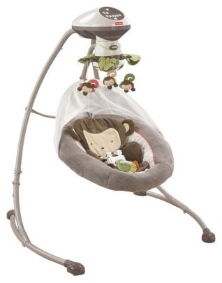 Fisher Price My Little Snugamonkey Cradle N Swing