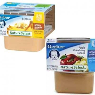 Target Baby Deals: Gerber Baby Food 2-Packs from $0.60 Each!