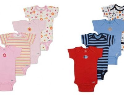 Clearance Sale: 50% off Gerber Onesies Short-Sleeve Variety 4-Pack (Free Shipping eligible)!