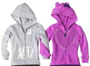 Girls Infant & Toddler Long-Sleeve Hoodie