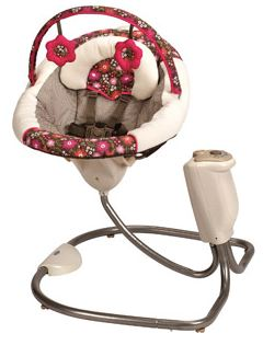 Graco Sweet Snuggle Infant Soothing Swing, Whitney