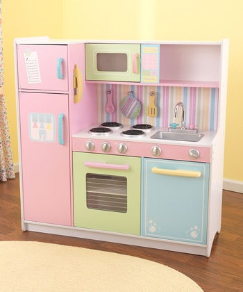 Zulily deals on kidkraft furniture toys save up to 60 for Kitchen set deals