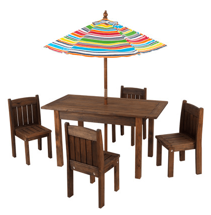Pics s Kidkraft Outdoor Table And Chair Set For