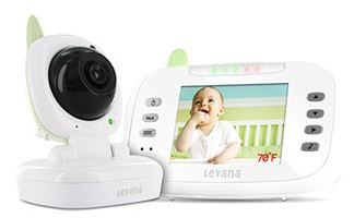 Levana-Safe N' See Advanced 3.5 Digital Video Baby Monitor
