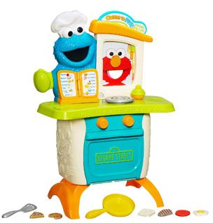 Sesame Street Playskool Come 'n Play Cookie Monster Cafe Play Se