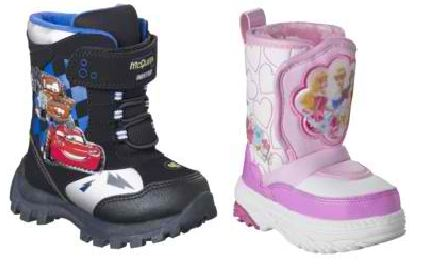Toddler Disney Snow Boots