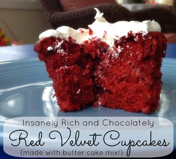 Rich Red Velvet Cupcake Recipe with Cool Whip Frosting