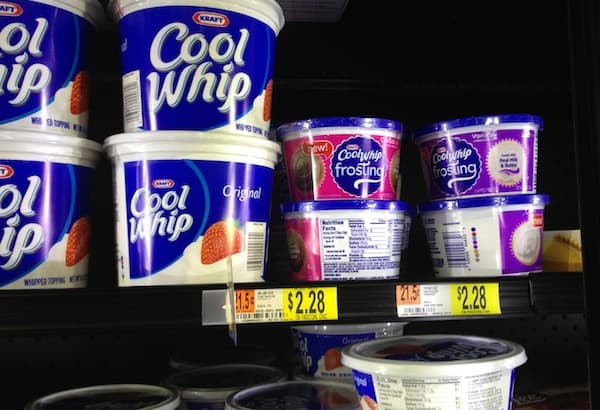 cool whip frosting at walmart