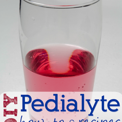 How to make Pedialyte