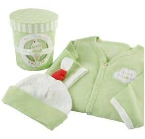Baby Aspen Sweet Dreamzzz Pint of PJ's Sleep Time Gift Set, 0-6 Months