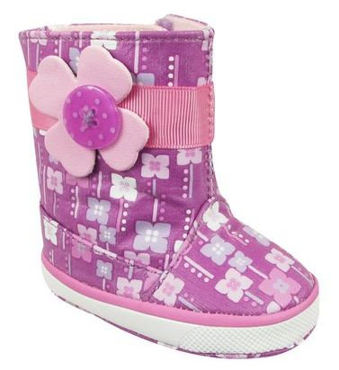 Baby Girl's Natural Steps Lil' Orchid Boot