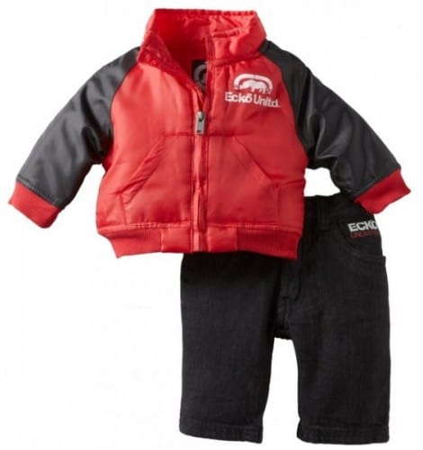 Ecko Baby Boys Jacket & Pant Outfits for $15.12 or Less ...