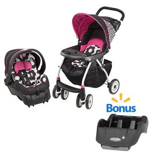 Evenflo Journey 300 Travel System, Marianna with Bonus Base