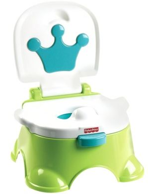 Fisher Price Blue Royal Stepstool Potty