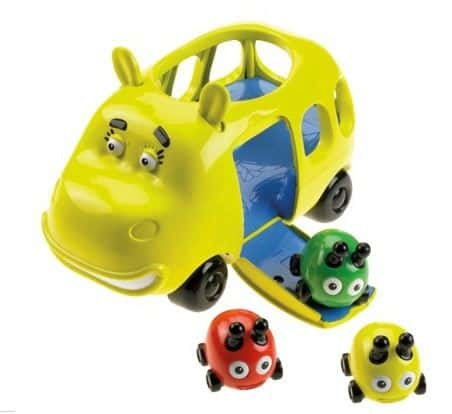 Fisher Price Hippobus and Beetle Bug Transport