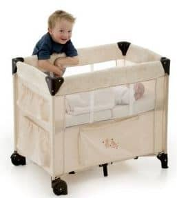 Hauck Dream N Care Portable Crib, Beige
