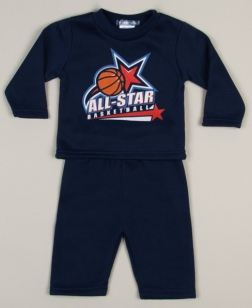 Infant All Star Basketball 2 Pc Set