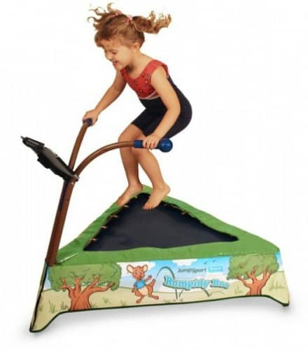 Save 33% On The JumpSport IBounce Kids Trampoline, Tablet