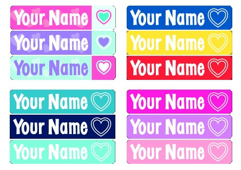 personalized labels deal