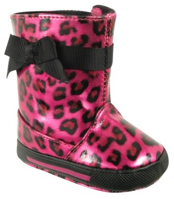 Natur IG Lil Safari Boot Fuschia