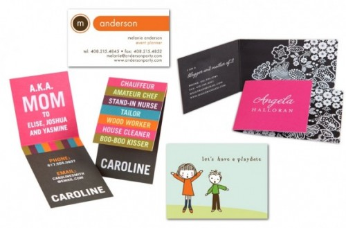 Tiny prints promo code save 40 off business cards and mommy cards business card deals colourmoves