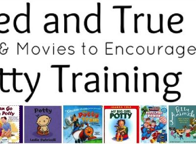 Tried and True Books and Movies to Encourage Potty Training