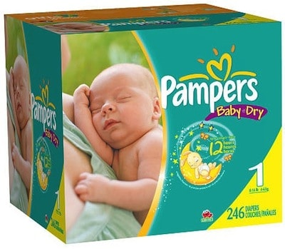 Save 11 50 Per Box Of Pampers At Babies R Us With