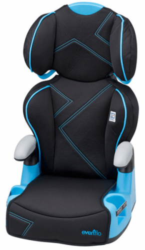 Save 54 On The Evenflo AMP High Back Booster Car Seat Free Shipping Eligible