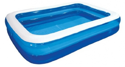 Save 42 On The Intex Giant Family And Kids Inflatable Rectangular Pool 10 Feet Long Free