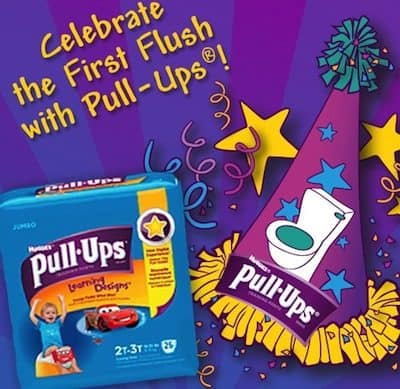 Potty Training Fun with Pull-Ups First Flush + $1750 in Sweepstakes Prizes!
