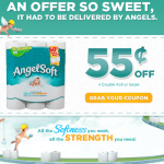 Angel Soft Printable Coupon + Winner of a Year's Worth of Angel Soft Toilet Paper