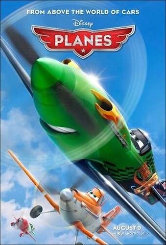 disney planes movie poster
